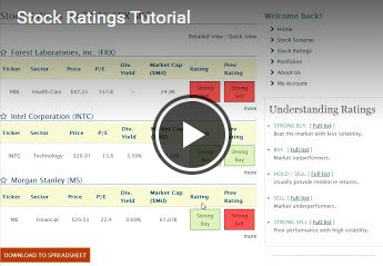 Stock Ratings Tutorial
